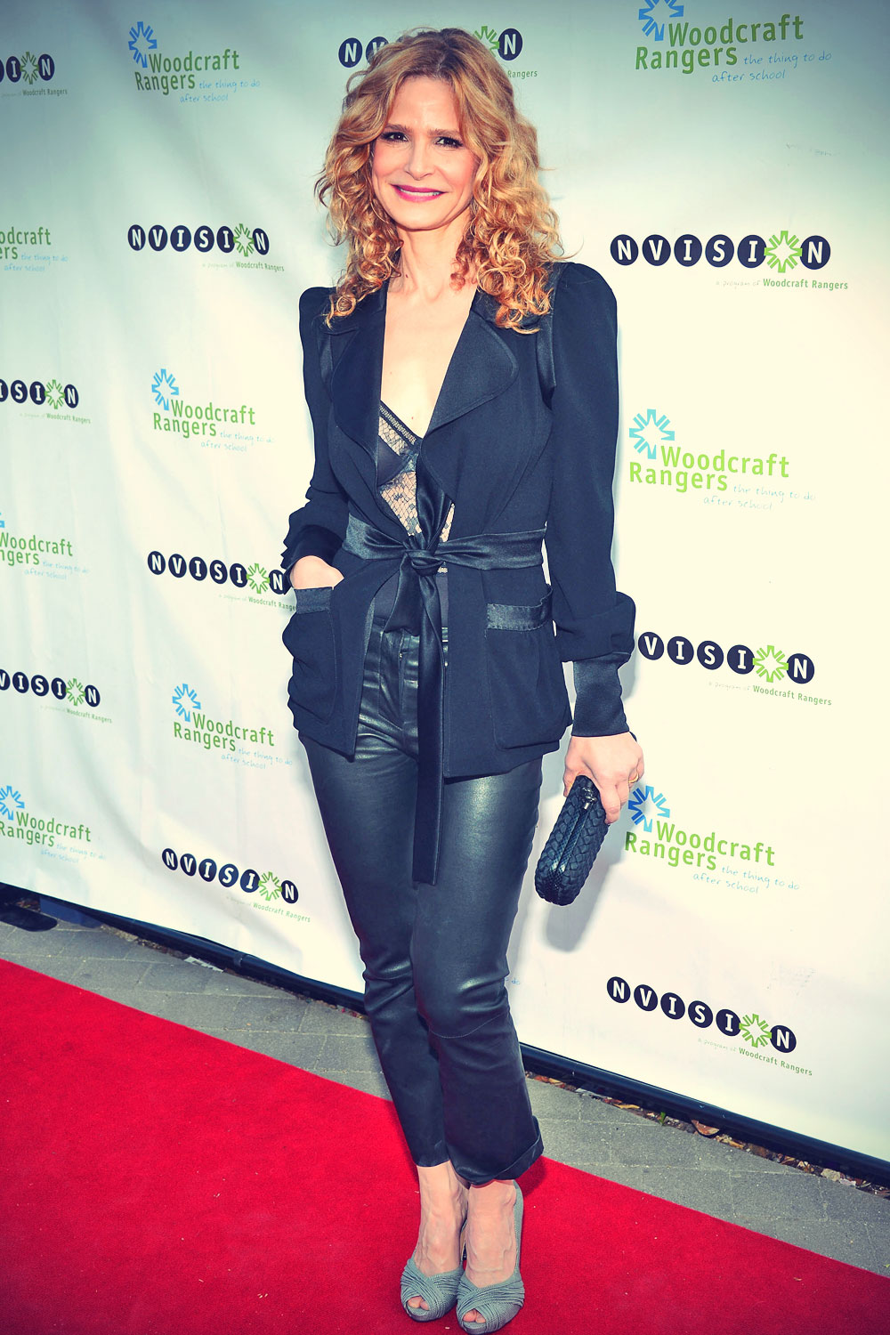 Kyra Sedgwick arrives to host the Woodcraft Rangers 90th anniversary gala