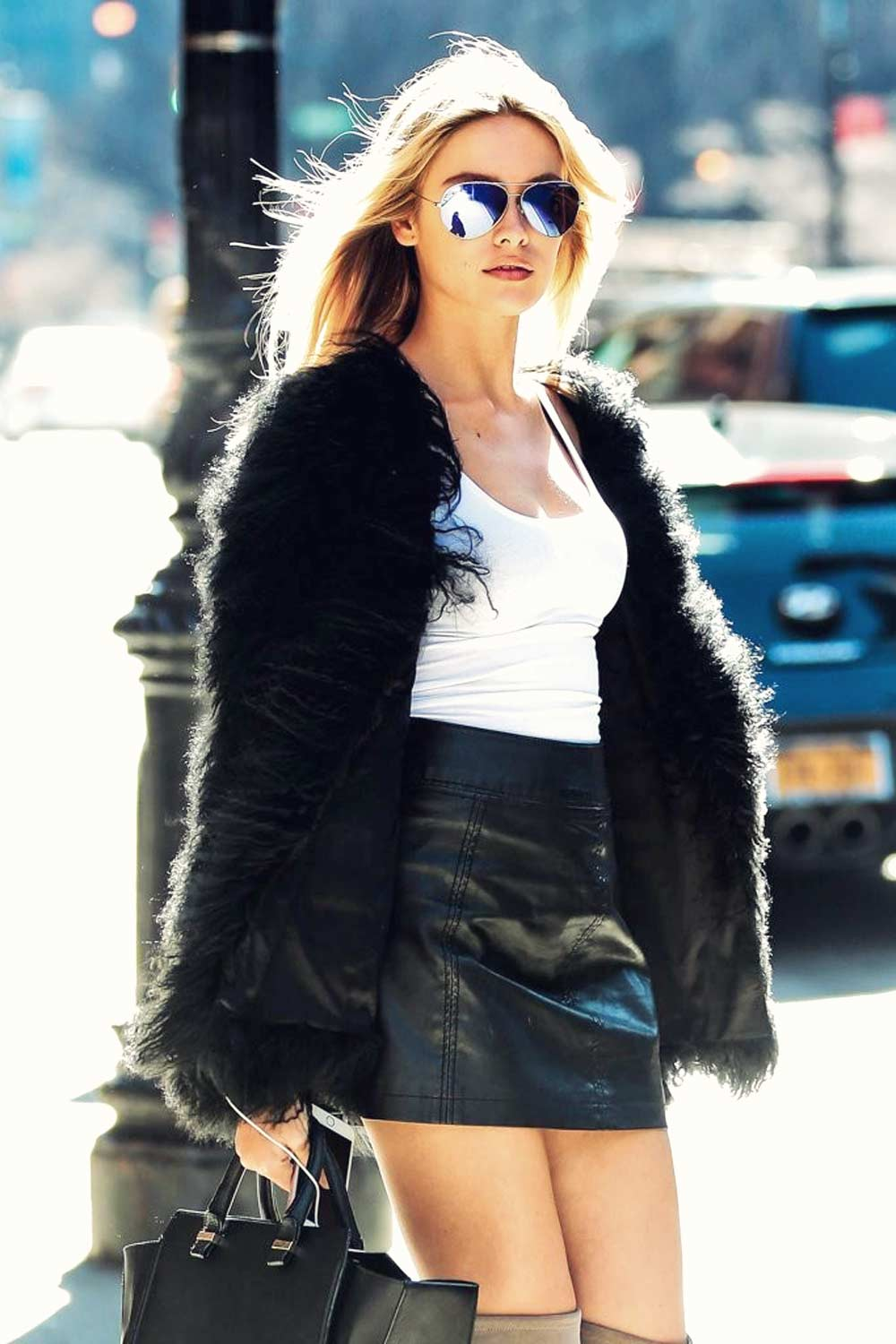 Lada Kravchenko spotted out and about in NYC
