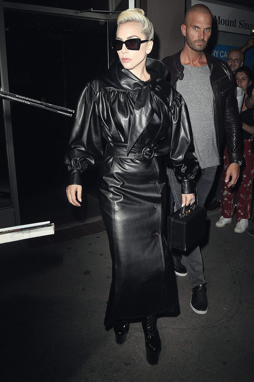 Lady Gaga leaving Electric Lady Studios