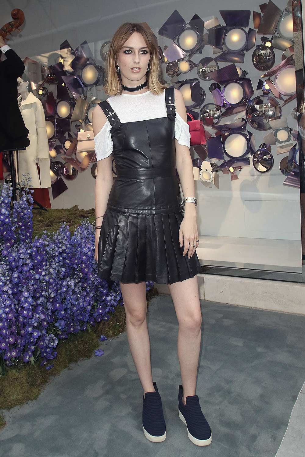 Lady Violet Manners Attends House Of Dior Vip Party