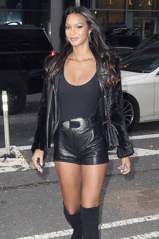 Lais Ribeiro attends Victoria's Secret Models