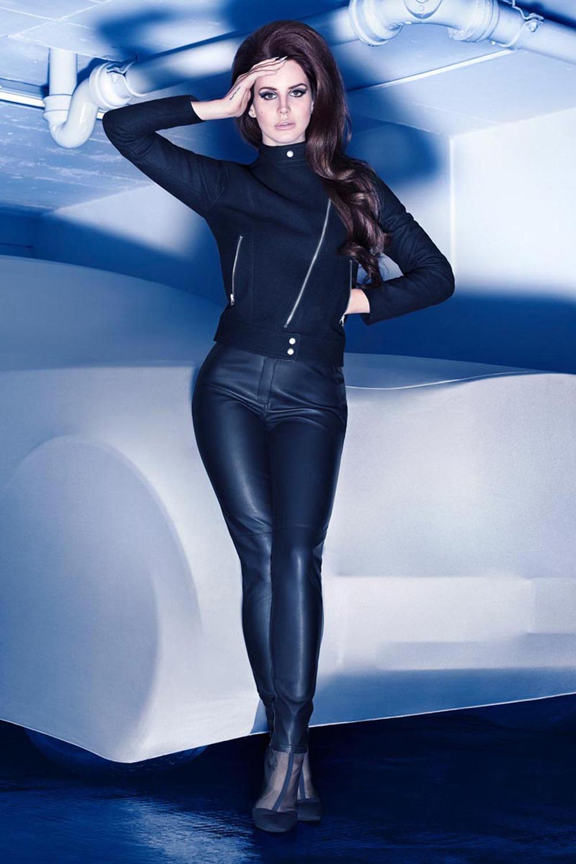 Lana Del Rey H&M's Winter 2012 Campaign