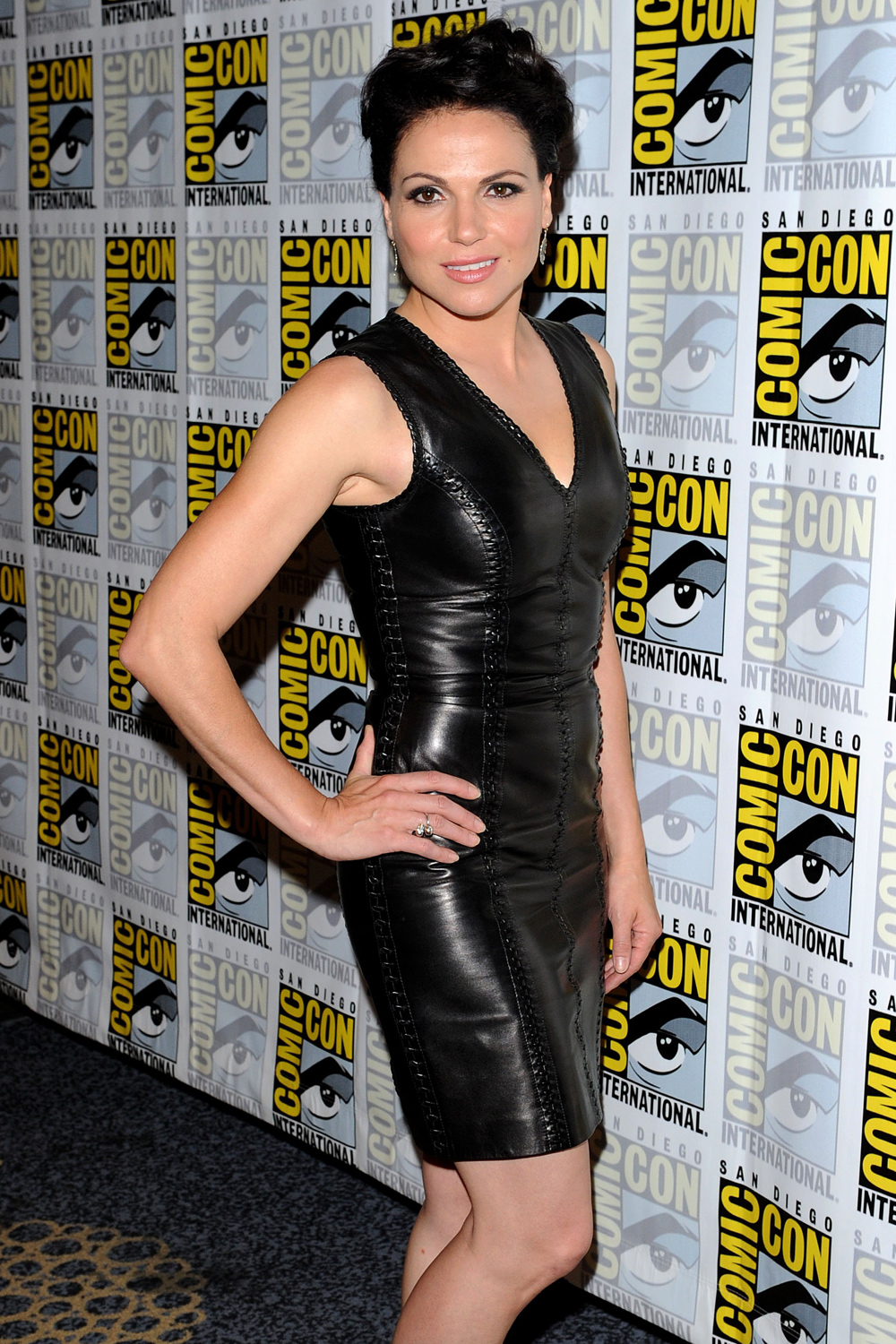 Lana Parrilla Once Upon A Time Comic-Con