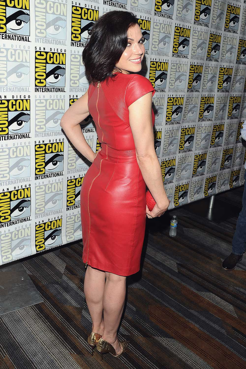 Lana Parrilla attends Once Upon A Time Press Line