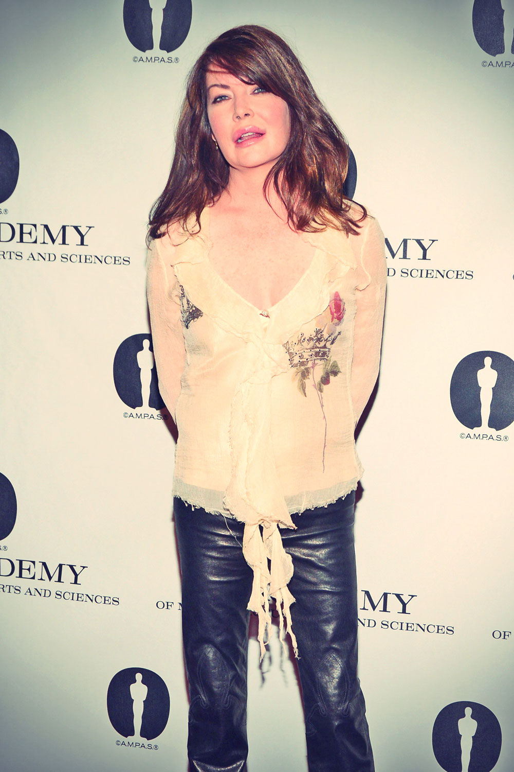 Lara Flynn Boyle at the Academy of Motion Pictures Arts