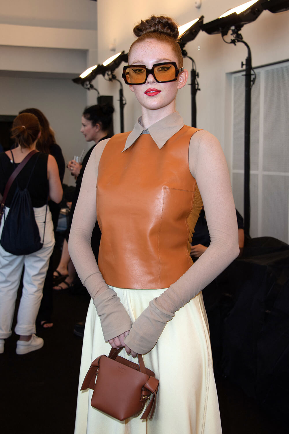 Larsen Thompson attends Acne Show