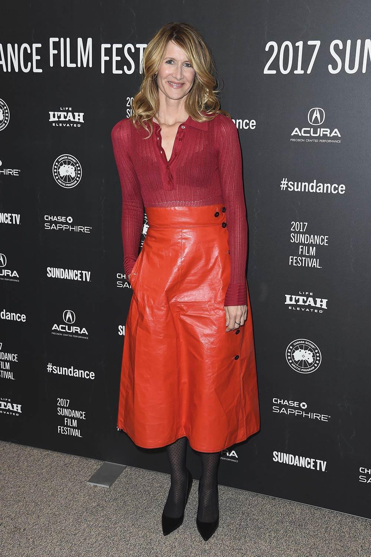 Laura Dern attends the Wilson Premiere