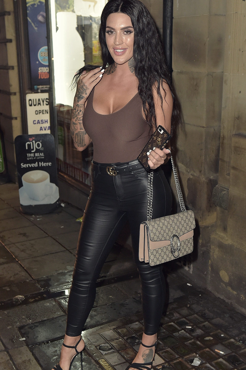Laura Lou Night On The Toon With Marnie Simpson Leather