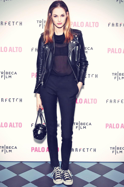 Laura Love at Palo Alto Premiere