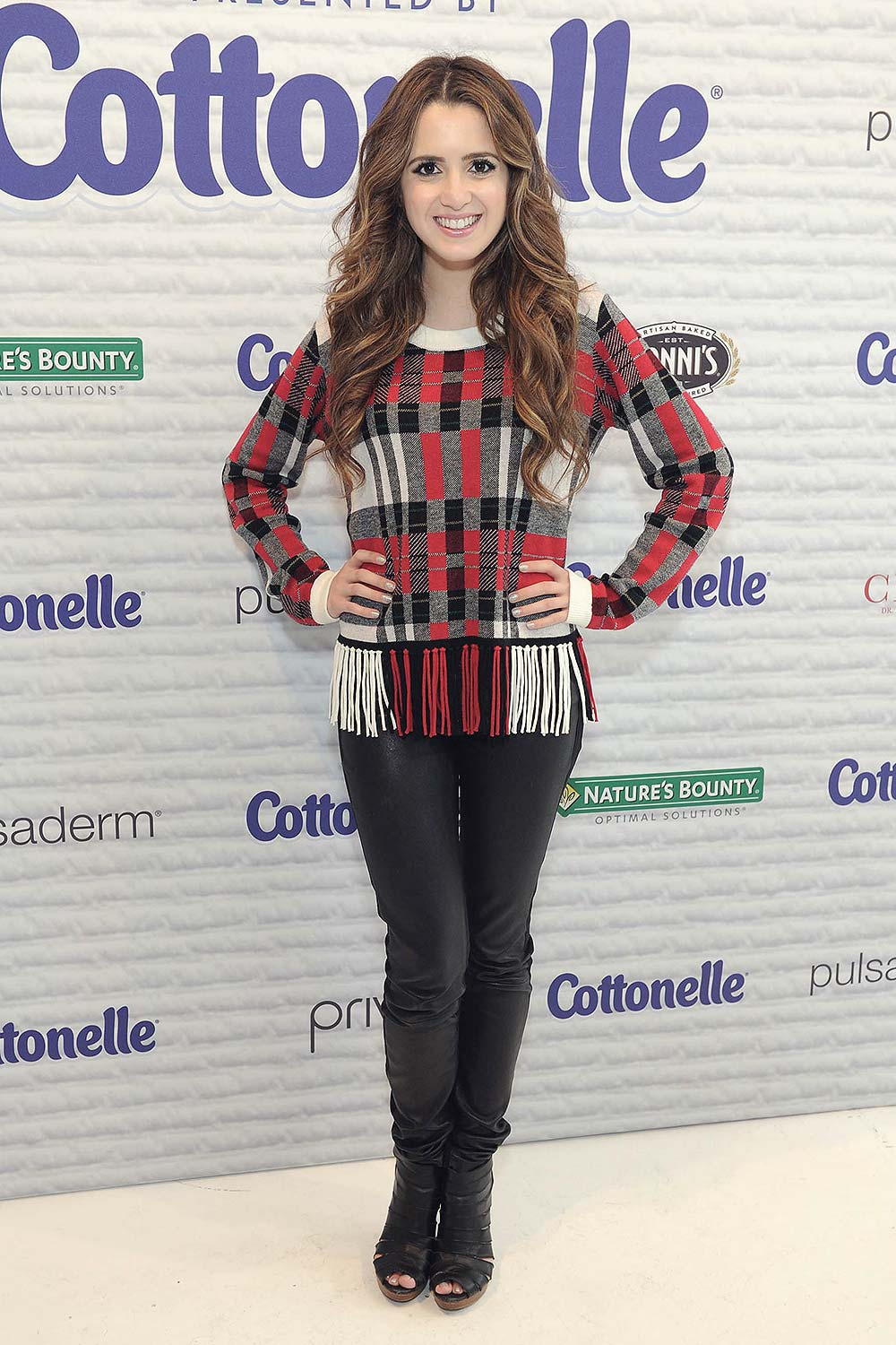 Laura Marano Attends Beauty Bar Presented By Cottonelle