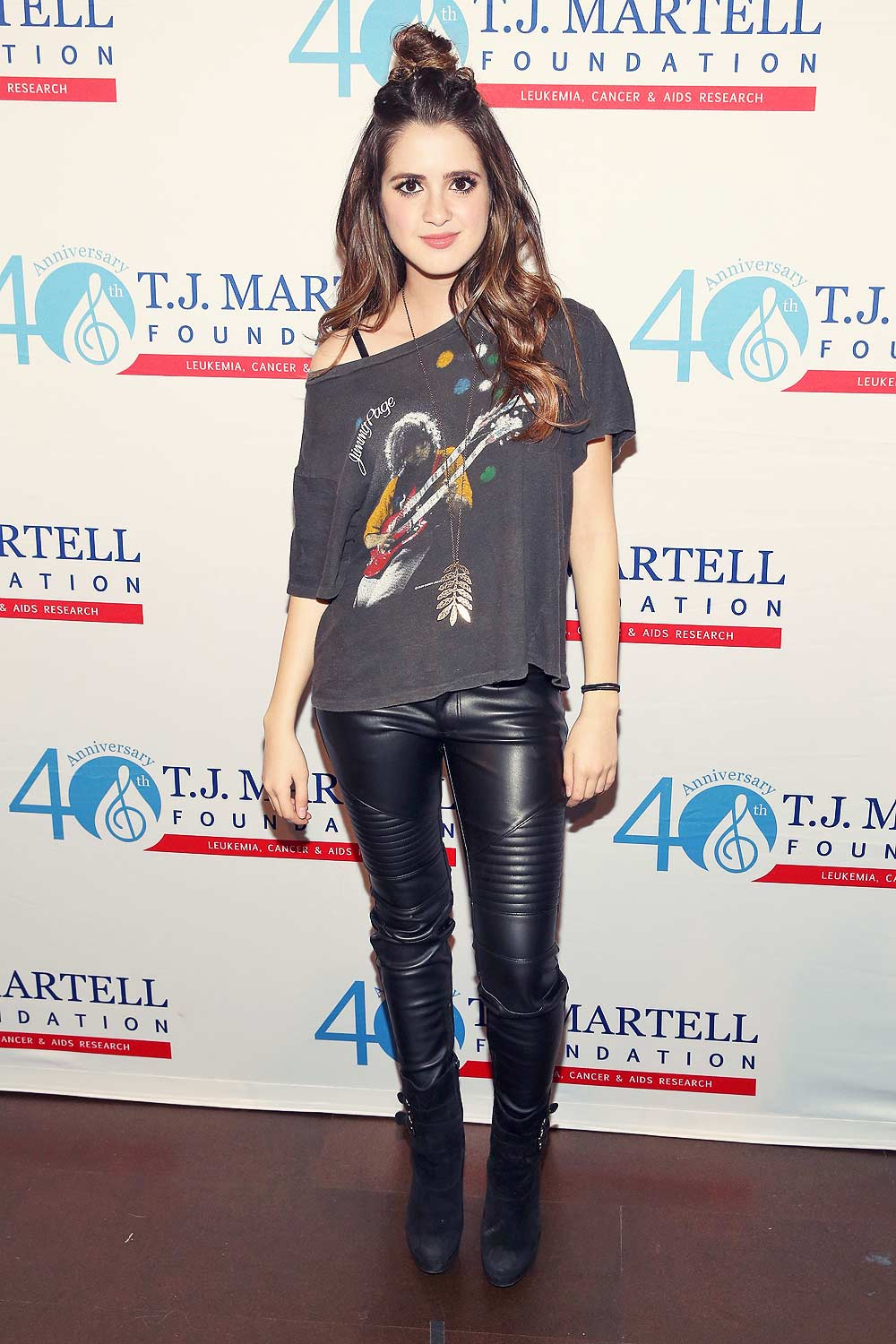 Laura Marano attends T.J. Martell Foundation's 16th Annual New York Family Day