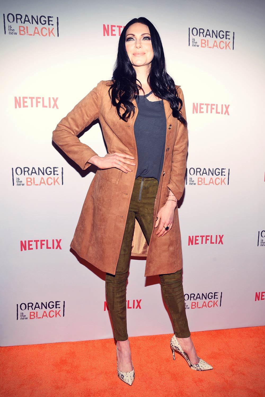 Laura Prepon attends Orangecon Fan Event
