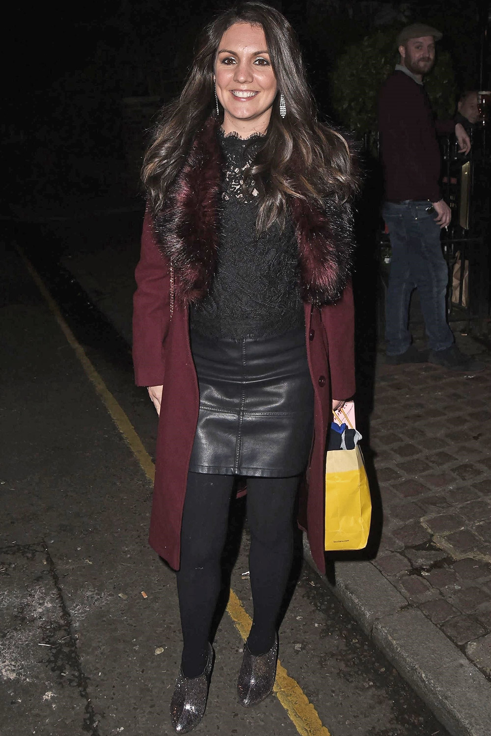 Laura Tobin attends Piers Morgan's Christmas Party