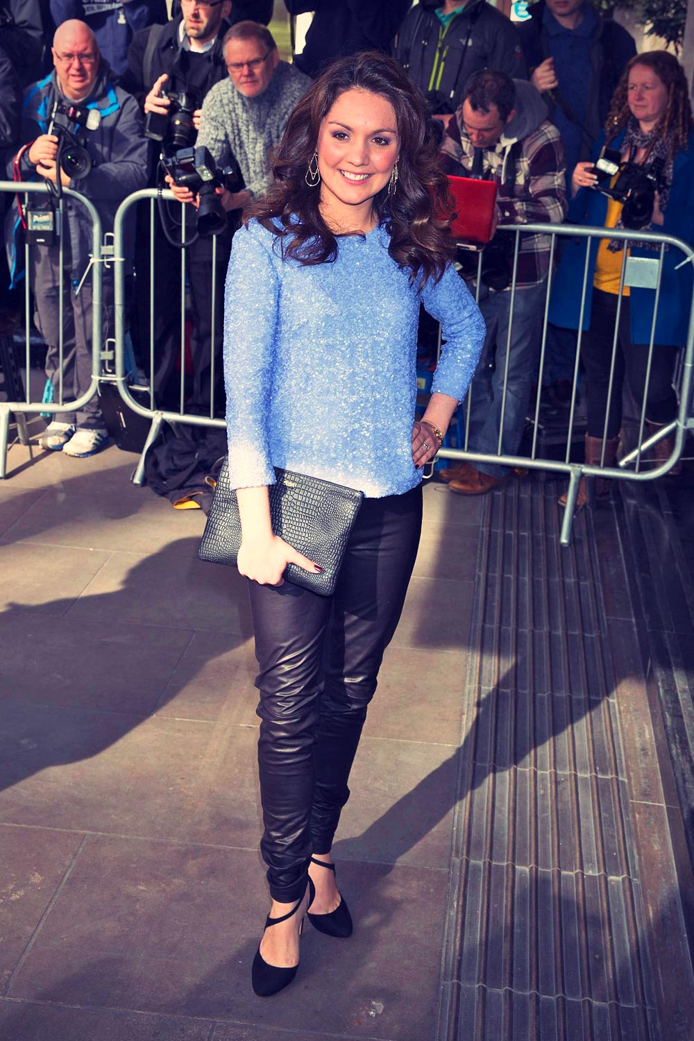 Laura Tobin attends The TRIC Awards 2015