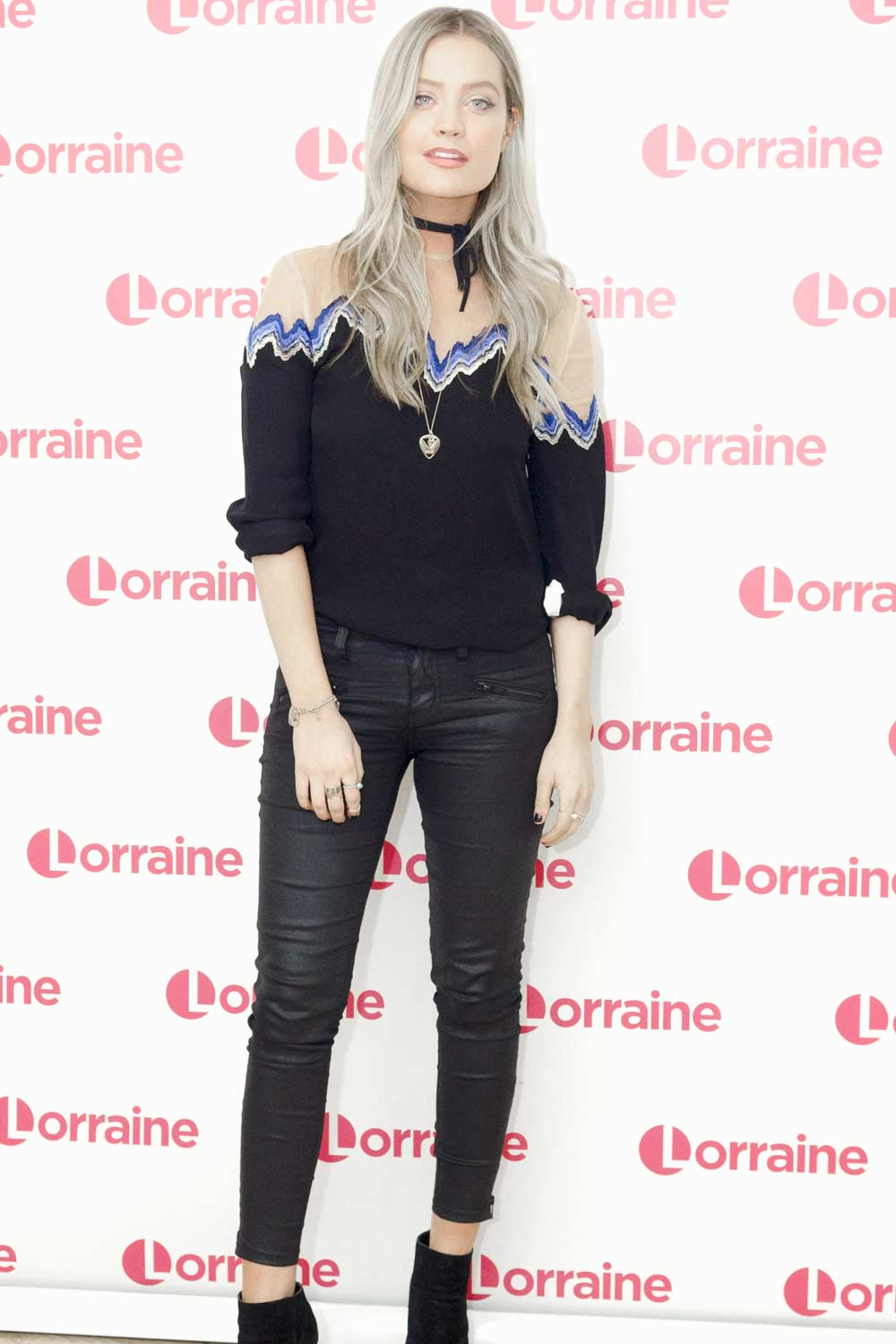 Laura Whitmore at Lorraine