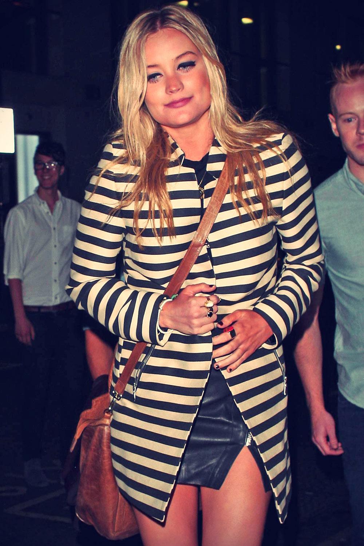 Laura Whitmore at Mahiki night club in London