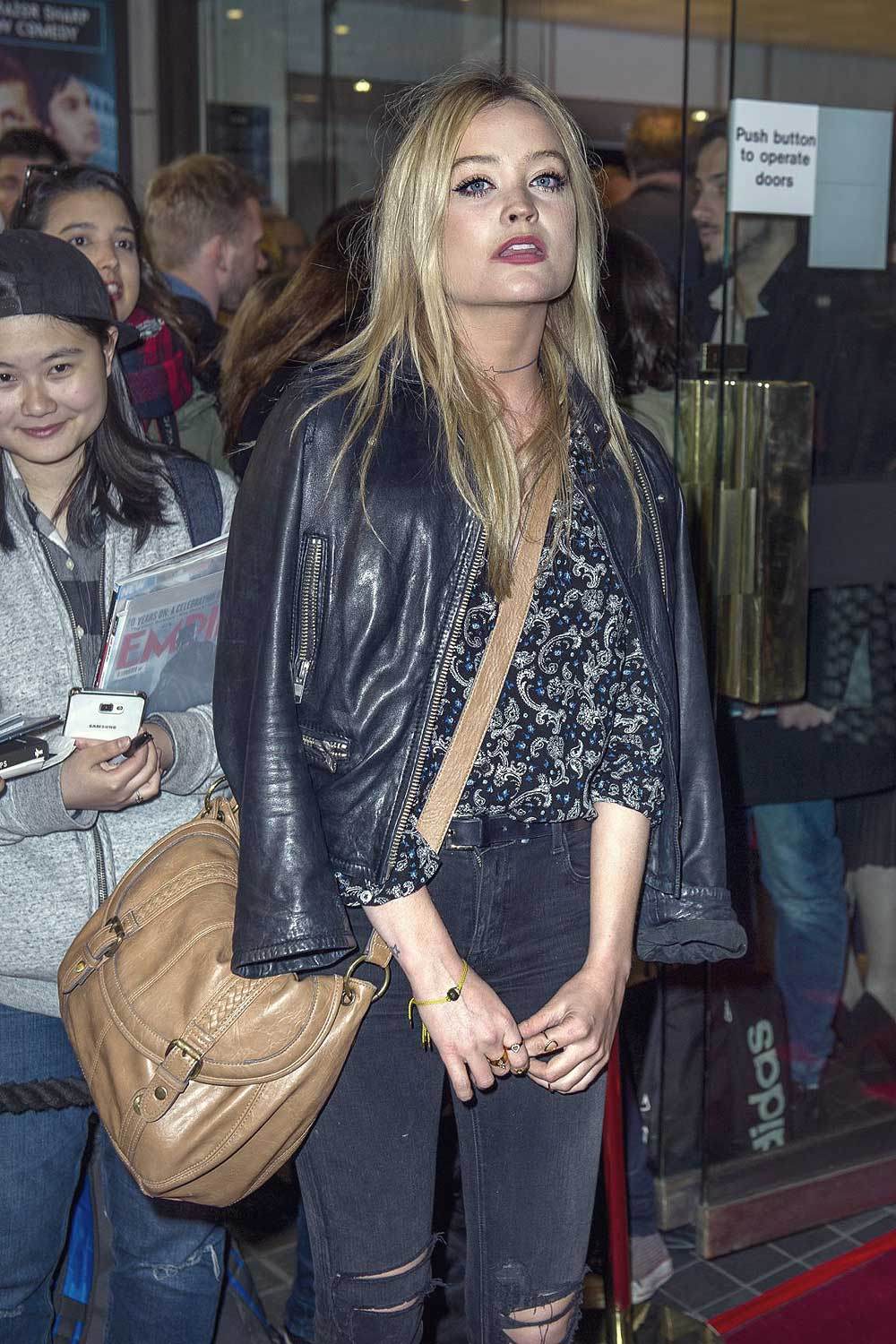 Laura Whitmore attends The Spoils after party