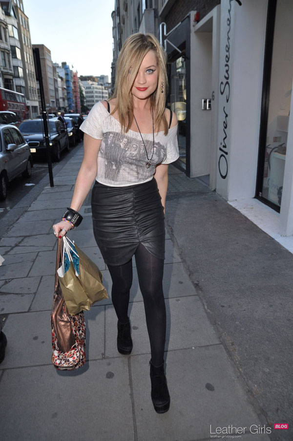 Laura Whitmore At Flash Trash Jewellery Launch in London