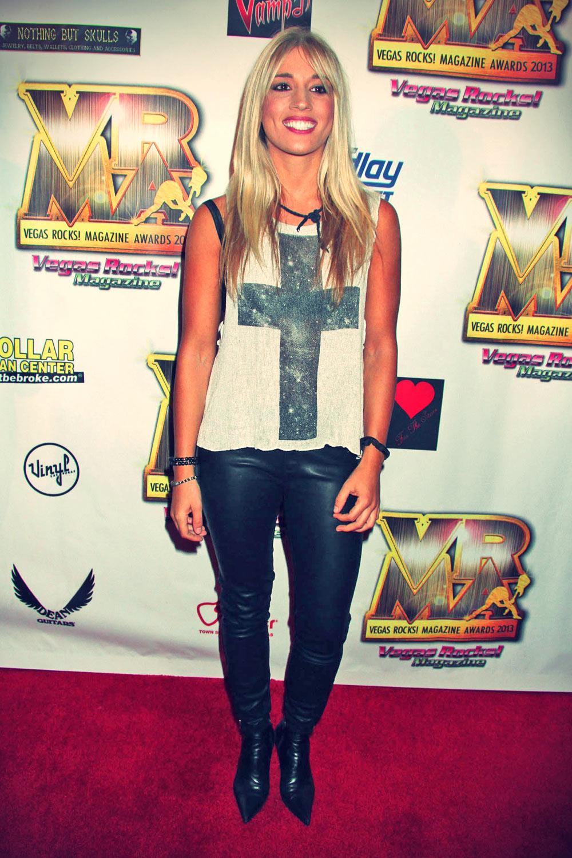 Laura Wilde attends 4th Annual Vegas Rocks! Magazine Awards
