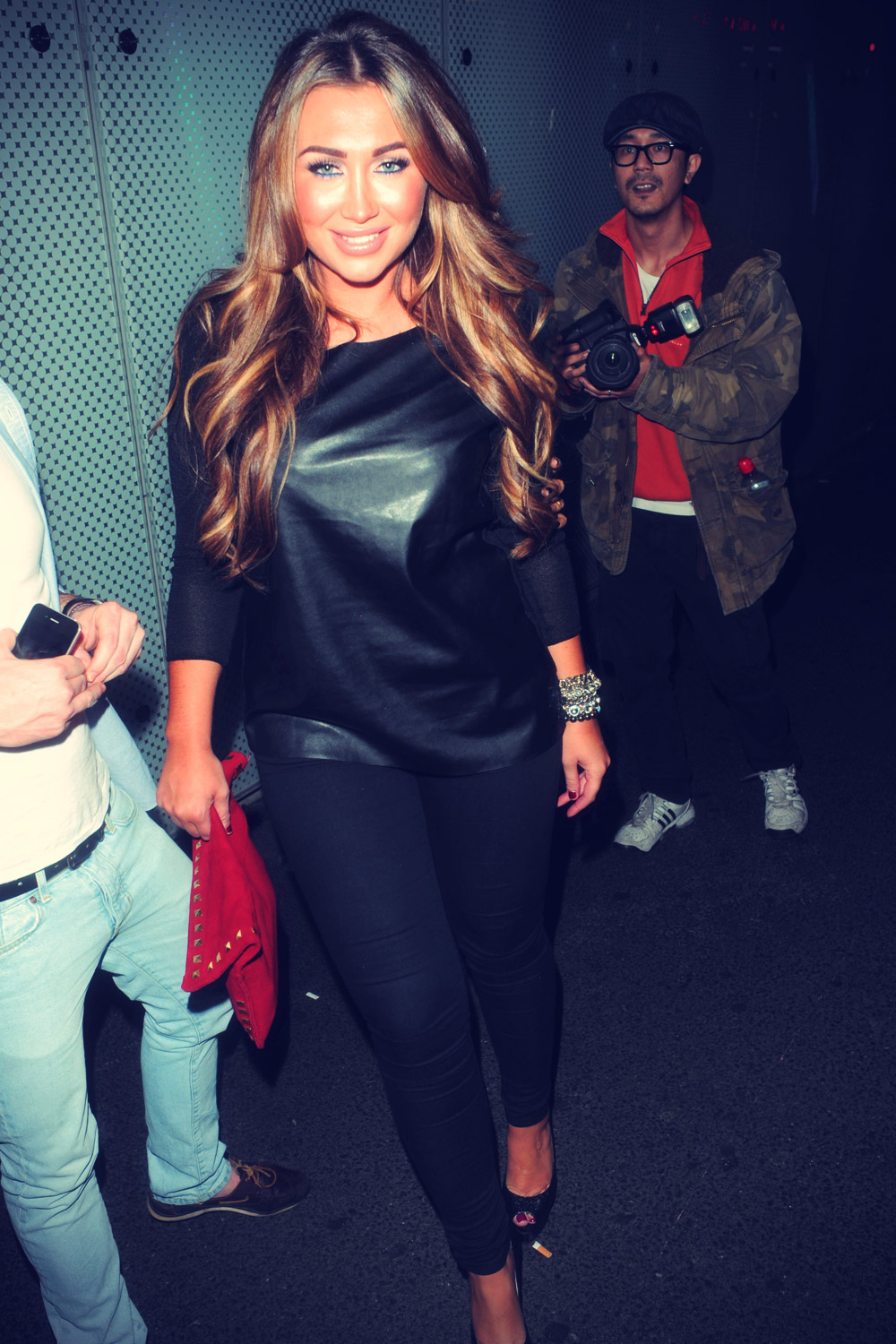 Lauren Goodger at Jeans for Genes launch party held