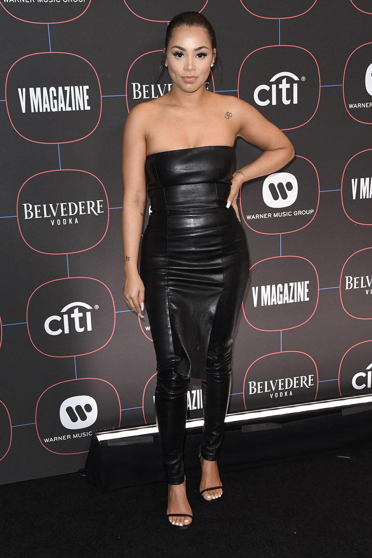 Lauren London attends Warner Music's Pre-Grammys Party