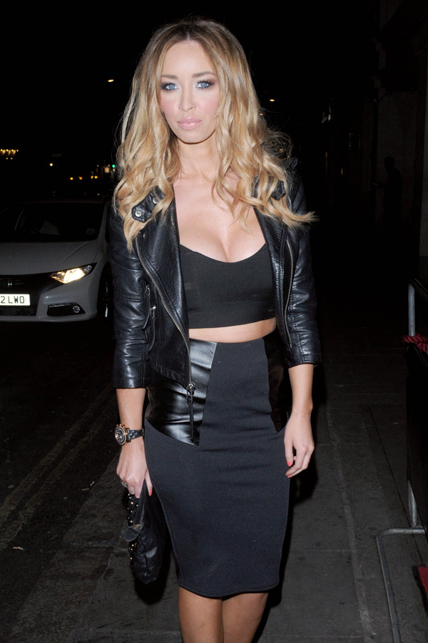 Lauren Pope at Nobu