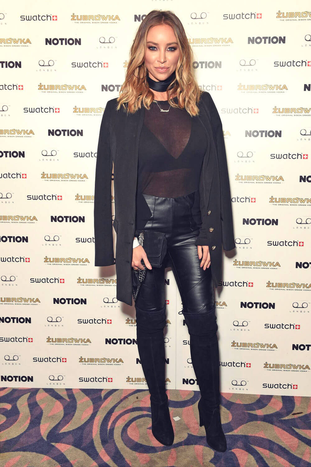 Lauren Pope at Notion Magazine Issue 72 launch Party