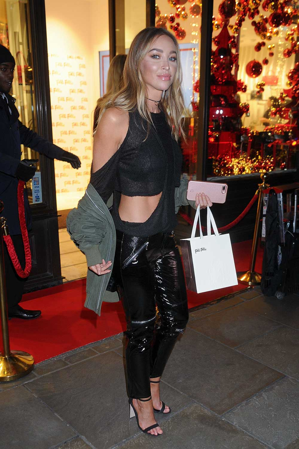 Lauren Pope attends Folli Follie concept store launch