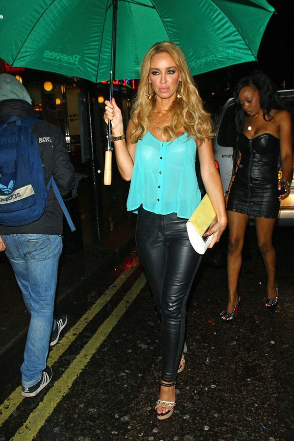 Lauren Pope leaving DSTRKT Nightclub