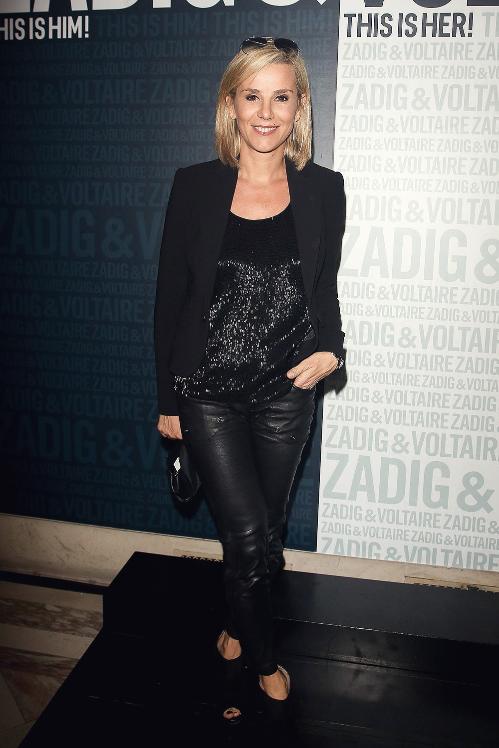 Laurence Ferrari Attends The Zadig Amp Voltaire New