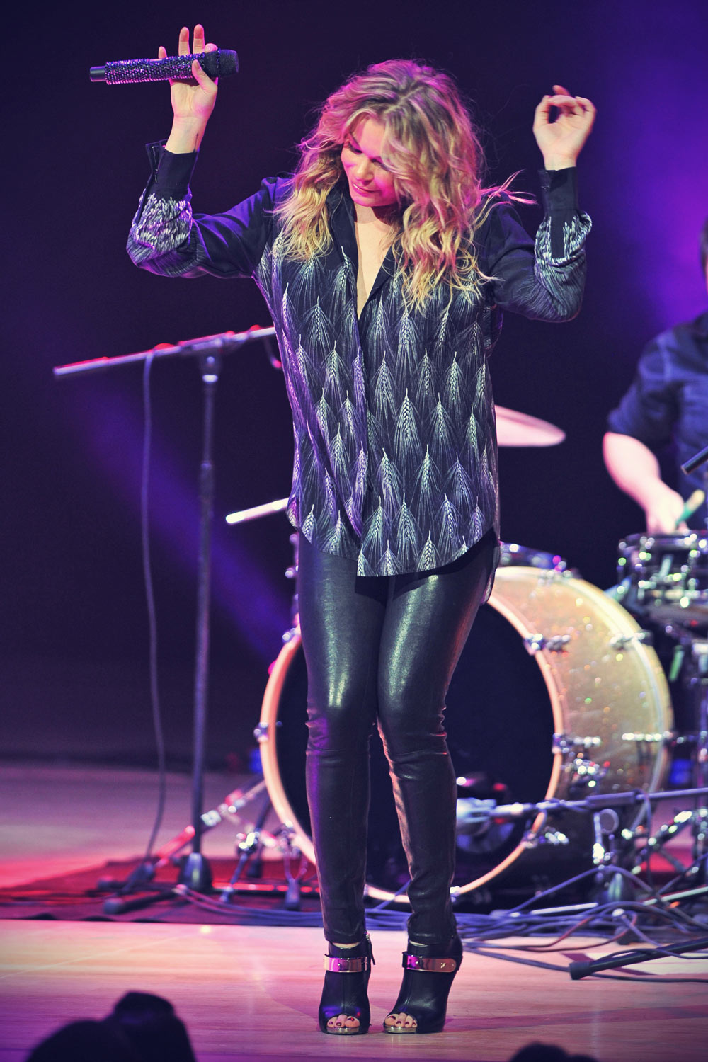 LeAnn Rimes performing live in concert at the Bridgewater Hall