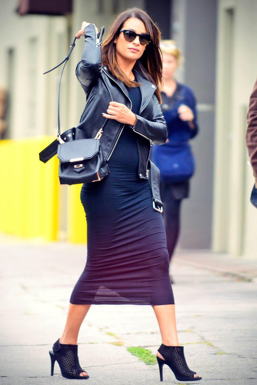 Lea Michele out in LA