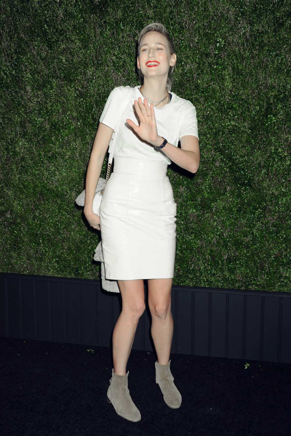 Leelee Sobieski attends the 11th annual Chanel Tribeca Film Festival Artists Dinner