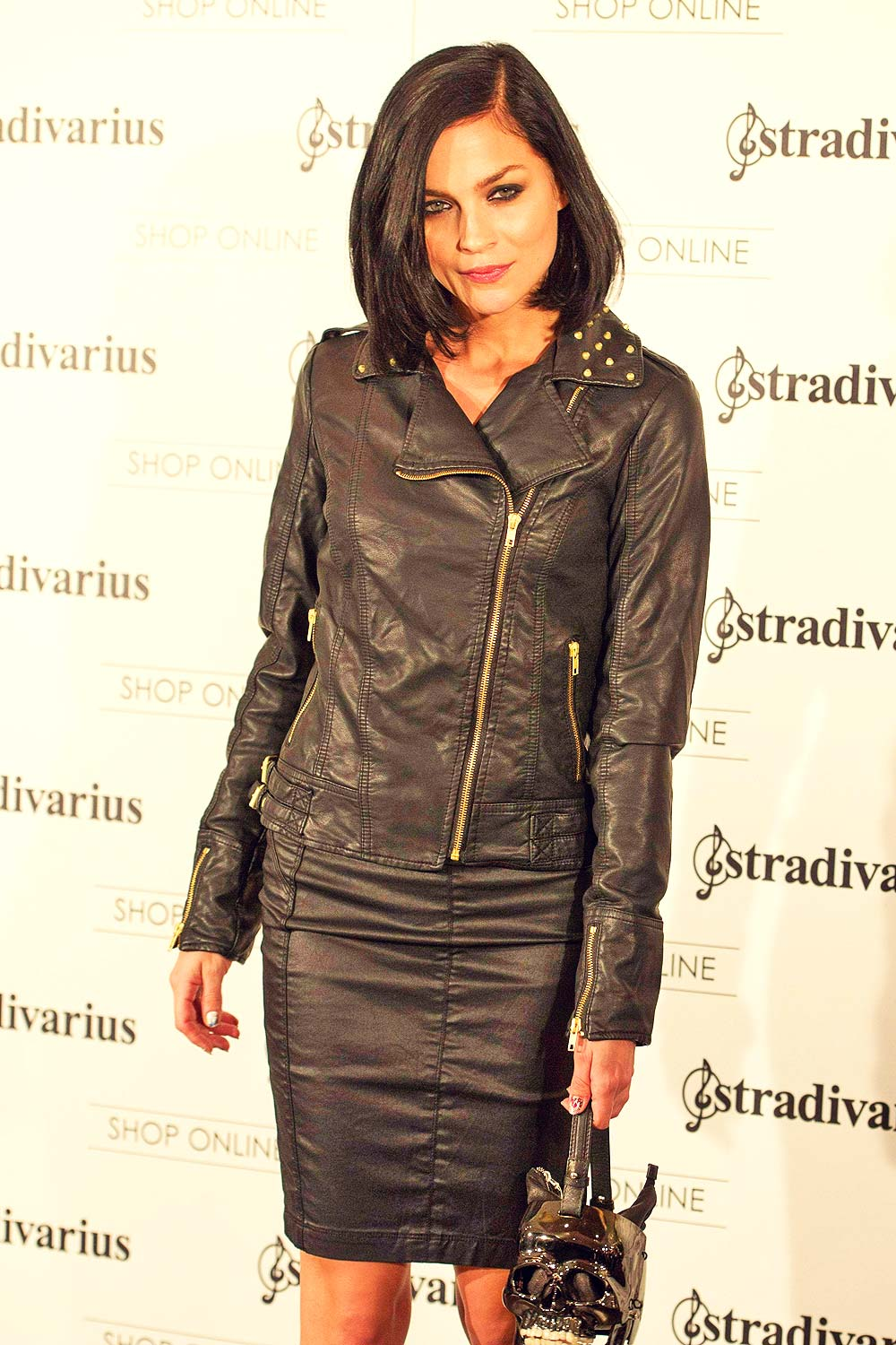Leigh Lezark attends Stradivarius Party Photocall