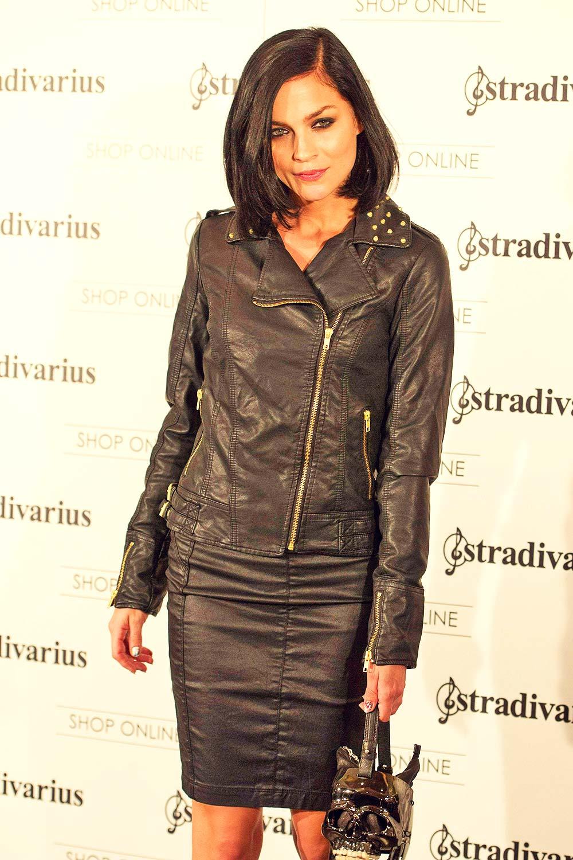 Leigh Lezark attends Stradivarius Party Photocall