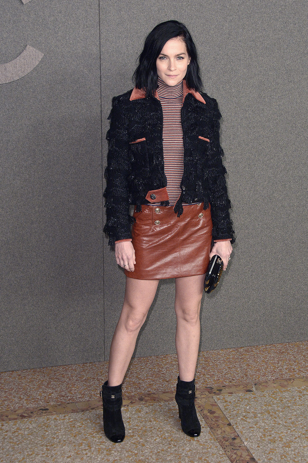 Leigh Lezark attends Chanel Metiers d'Art Show