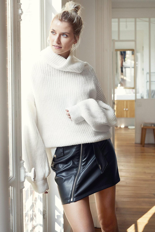 Lena Gercke attends LeGer Festive Pressday - Leather ...