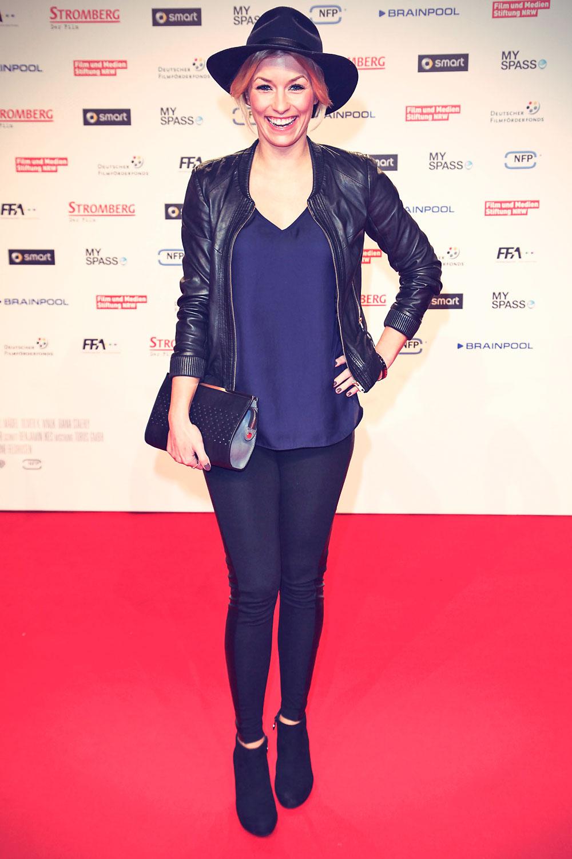 Lena Gercke attends Stromberg The Movie World Premiere