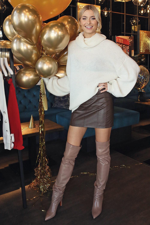 955d1214 Lena Gercke presents her new Label - Leather Celebrities