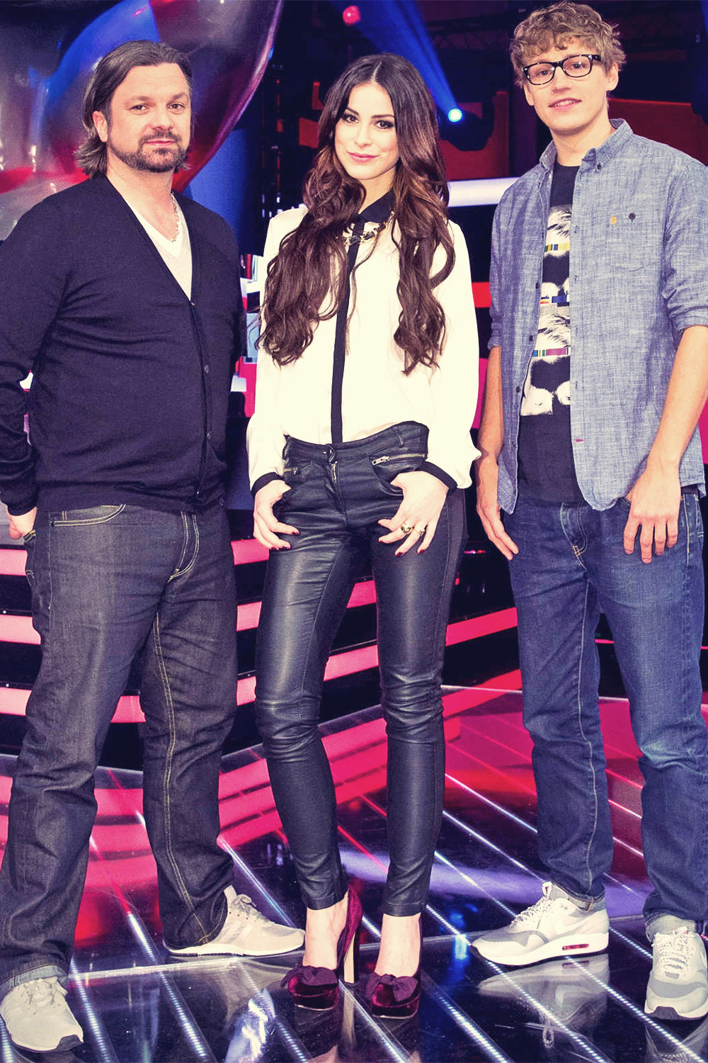 Lena Meyer Landrut at The Voice Kids in Berlin