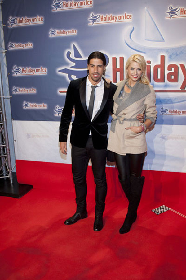 Lena Gercke at Holiday On Ice Speed premiere in Hamburg
