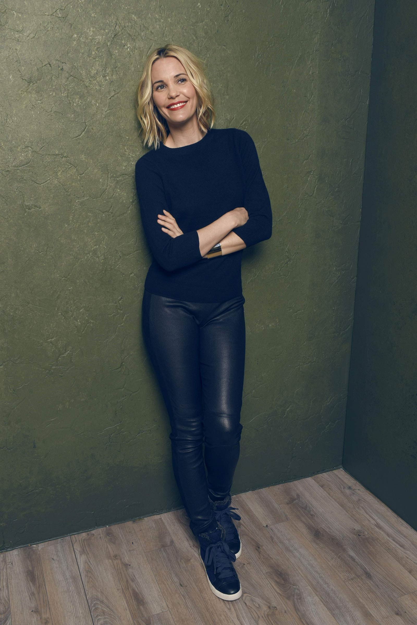 Leslie Bibb Don Verdean Portraits At Sundance Leather