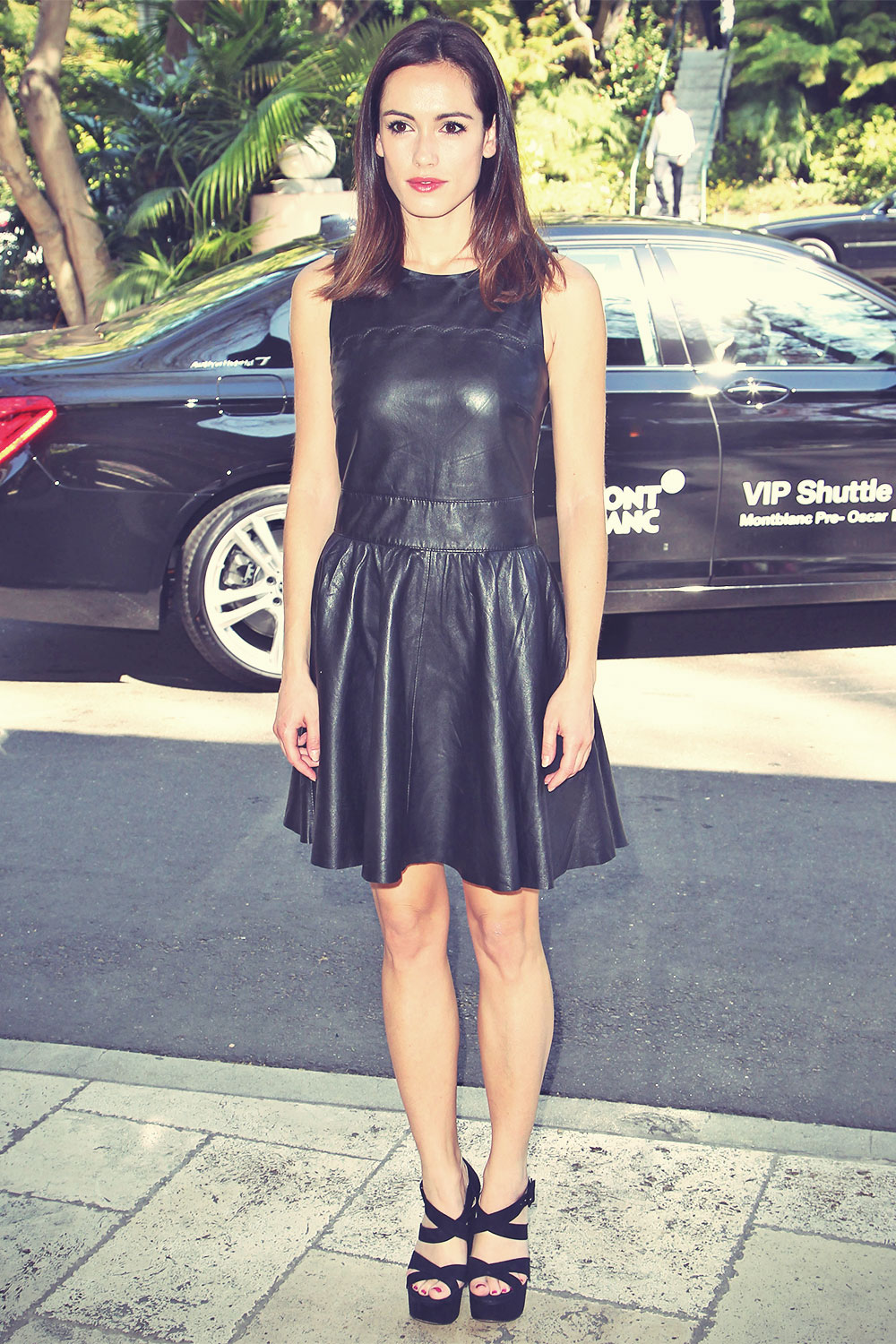 Leslie Coutterand attends the Montblanc And UNICEF