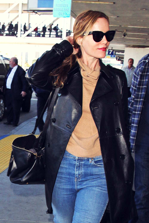 Leslie Mann At Lax Leather Celebrities