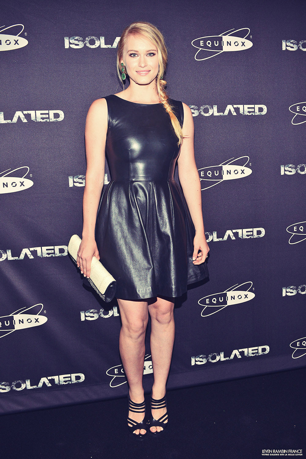 Leven Rambin attends Isolated premiere