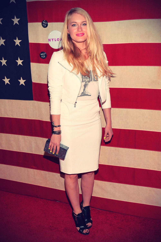 Leven Rambin attends the Nylon Magazine Celebration of America The Issue