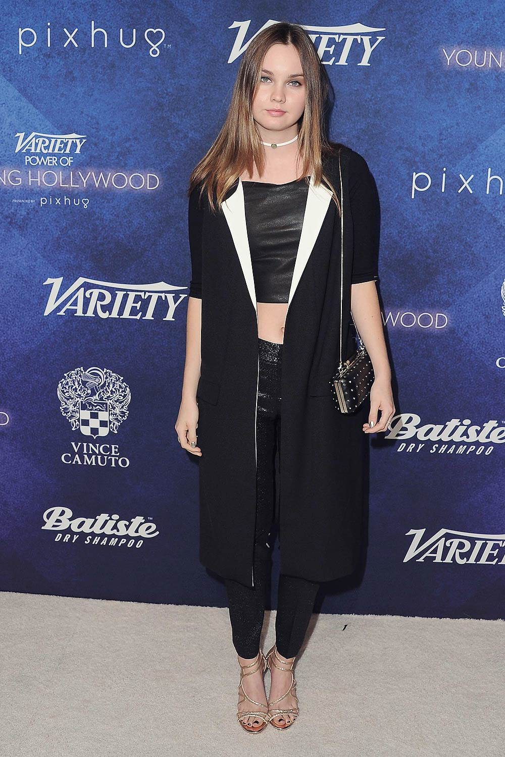 Liana Liberato Attends Varietys Power Of Young Hollywood
