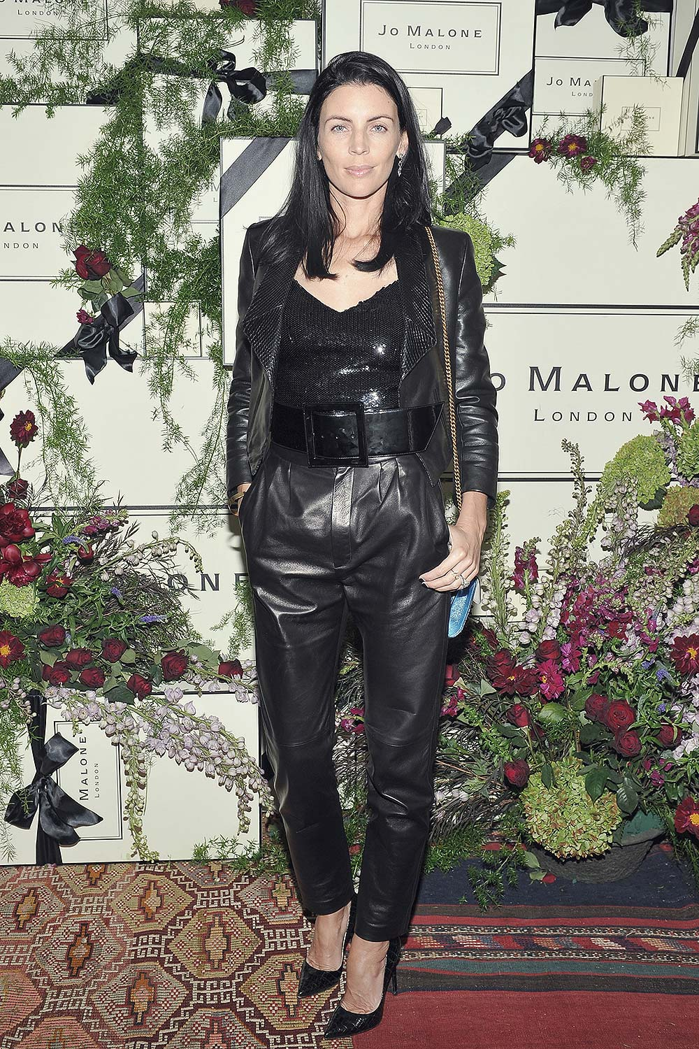 fa3b87a87de Liberty Ross leather style trends - Leather Celebrities
