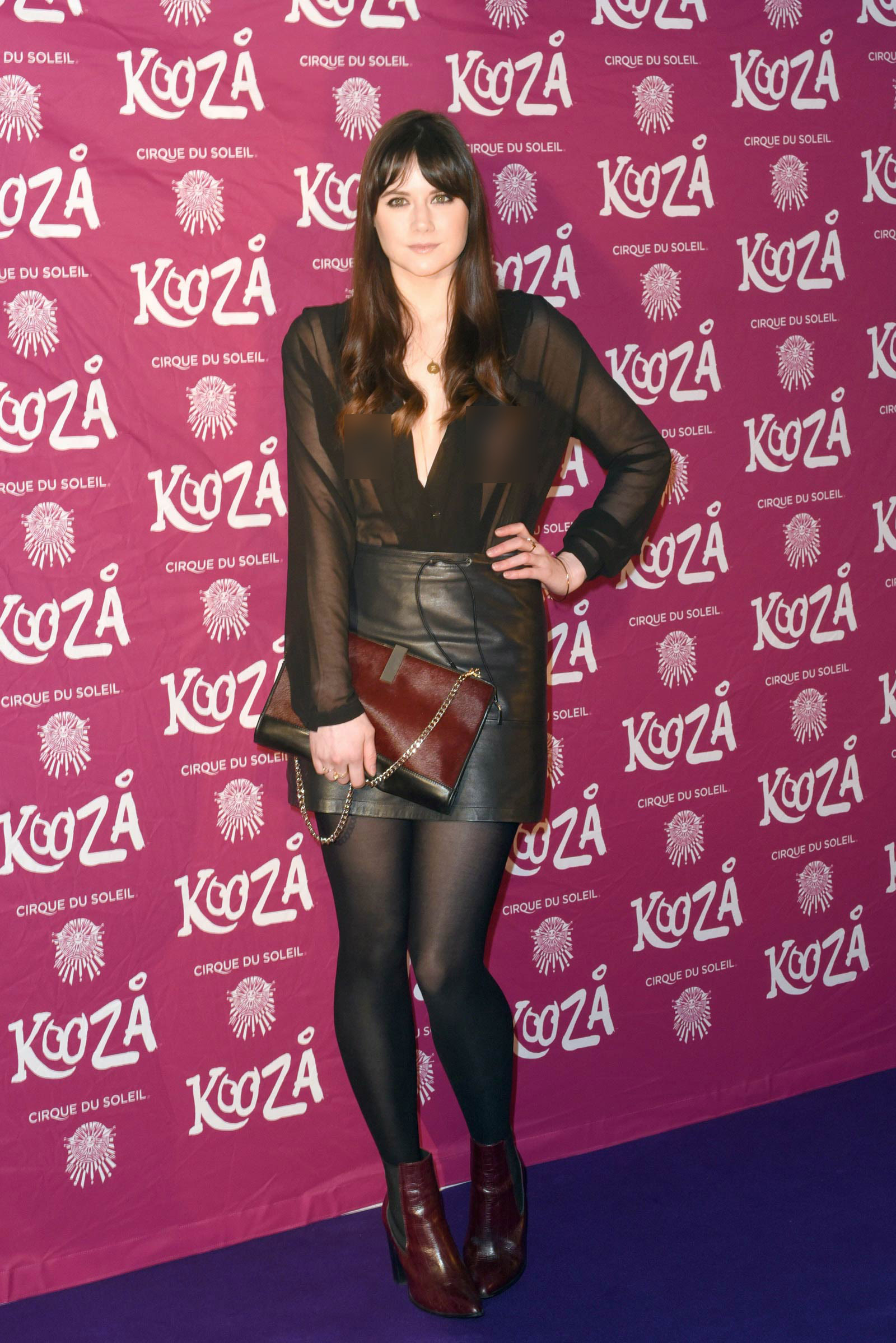 Lilah Parsons attends VIP performance of Kooza by Cirque Du Soleil