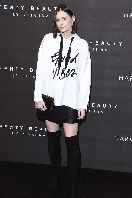 Lilah Parsons attends Fenty Beauty by Rihanna